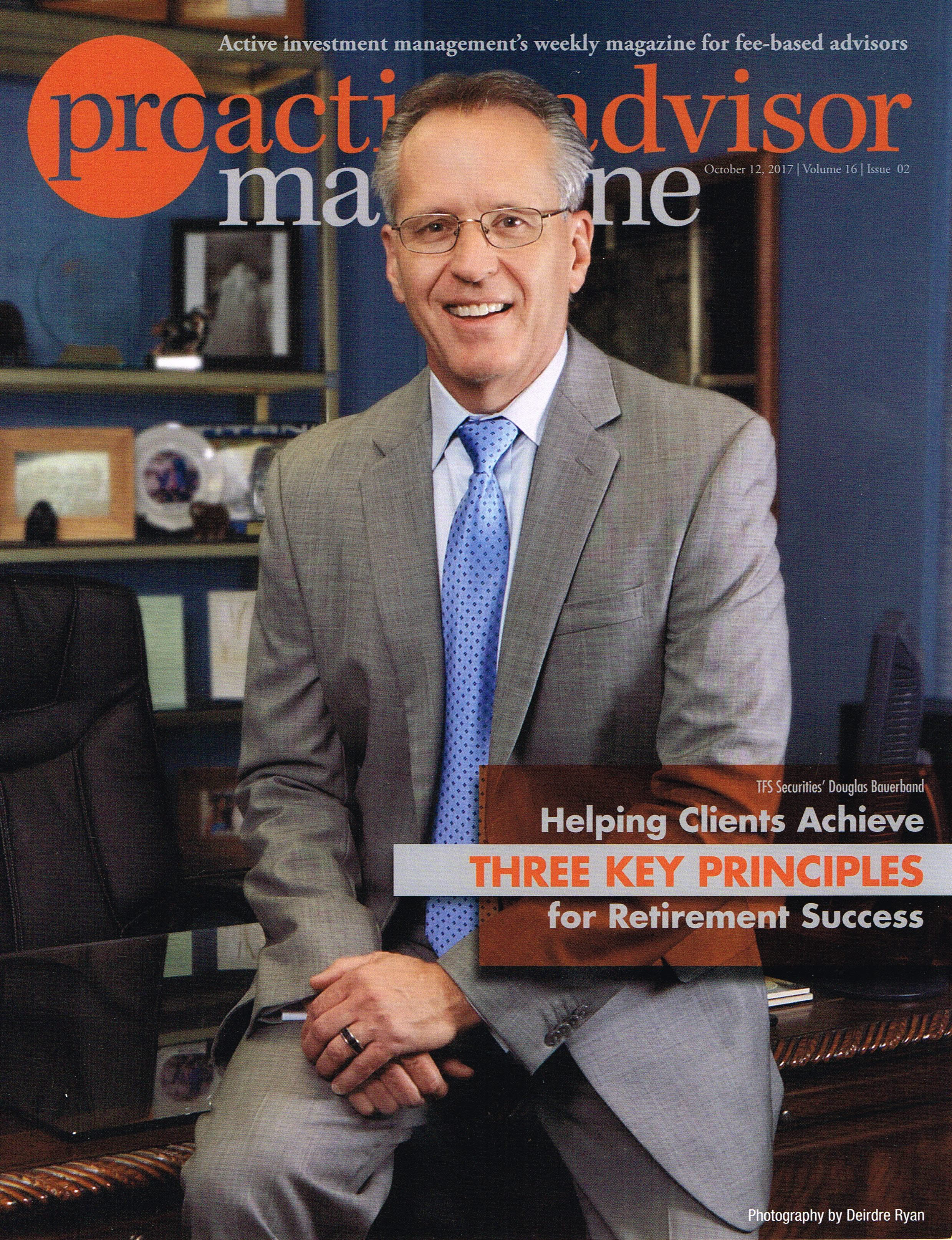 Douglas was featured in Proactive Advisor Magazine,